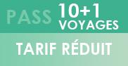 PASS 10+1 Voyages - Réduit